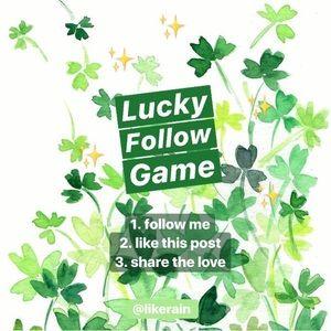 ✨ FIRST FOLLOW GAME! ✨